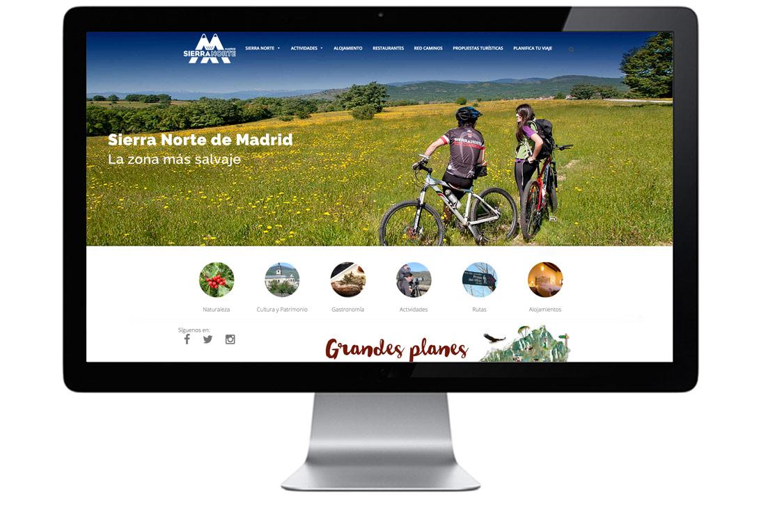 Web Sierra Norte de Madrid
